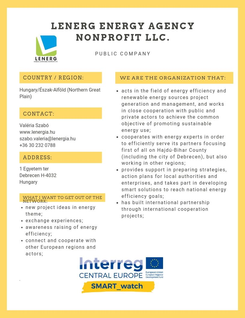 LENERG Energy Agency Nonprofit Llc.