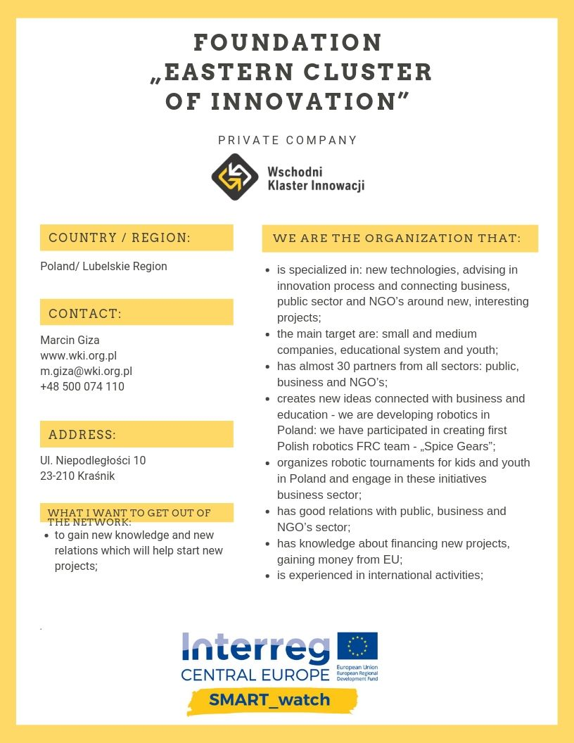 "Foundation ""Eastern Cluster of Innovation"""